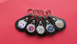 Traditional Leather Keyrings